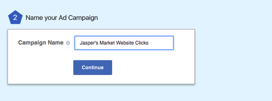 CREATE FACEBOOK AD USING GUIDED METHOD.- step 2