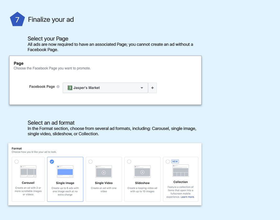 CREATE FACEBOOK AD USING GUIDED METHOD - step 7