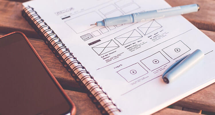 Sketching is one of the important steps of How to Create a mobile App