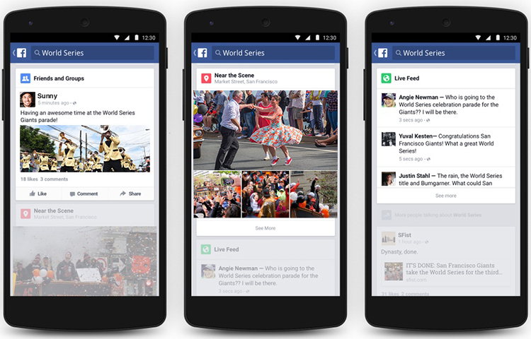 Facebook is a popular Social Networking Platform built through React Native app Development