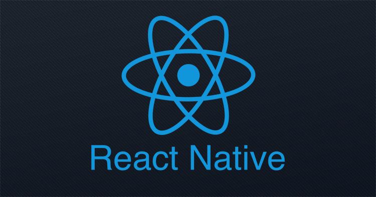 react native app development | react native logo