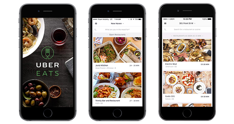 react native app development | UberEats