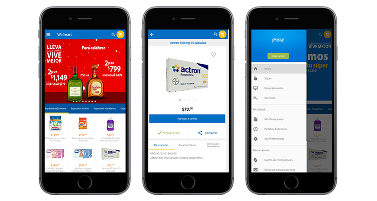 Walmart, the retail Giant decided to redo both their Android and iOS App using React native app Development
