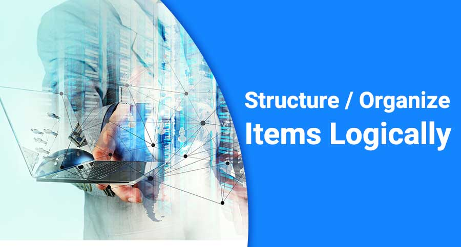 Structure-Organize-itms
