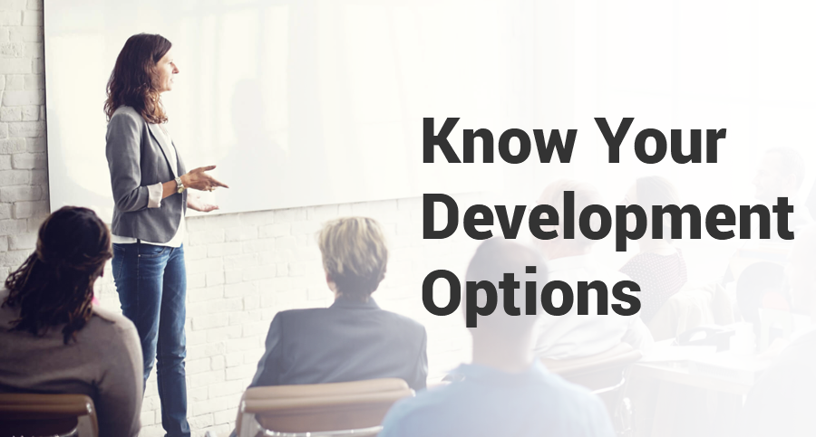 Know-your-development-options