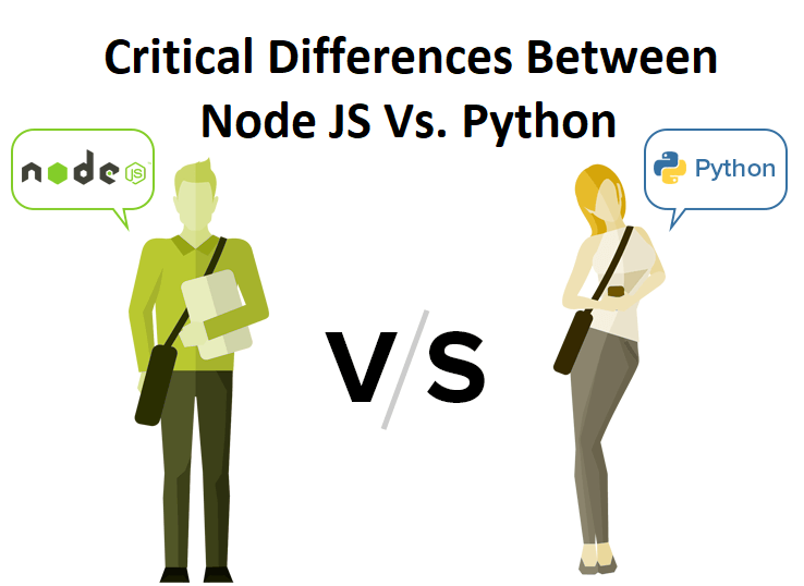 Critical Differences Between Node JS Vs. Python