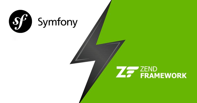 symfony vs zend framework