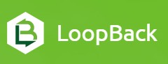 Loopback is a Node.js API framework for quick development of end-to-end rest APIs