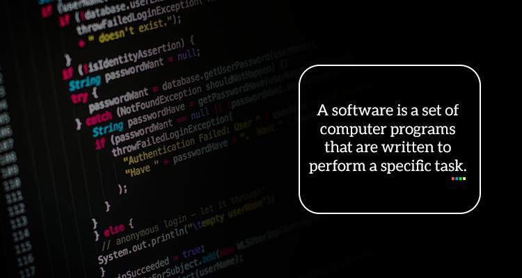 software development company | A software application development company defining what is a software