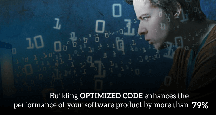 Optimising the code of your business software app can boost its performance by at least a minimum of 79%
