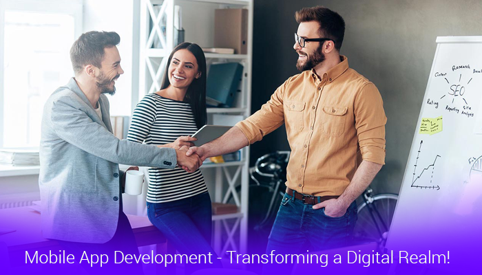 Mobile-App-Development---Transforming-a-Digital-Realm!