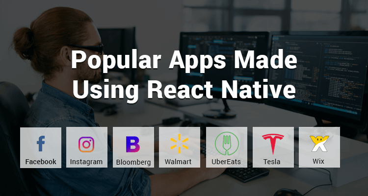 Popular Mobile Apps that are built by React Native app Developer