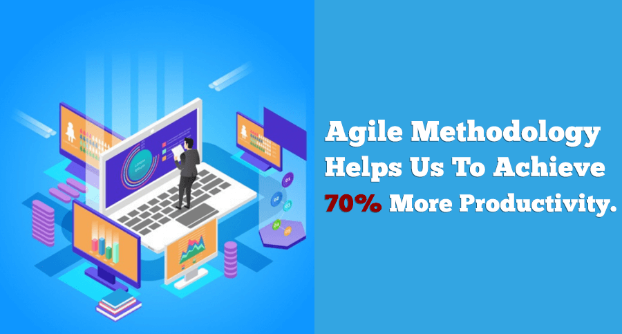 agile methodology can help you to improve productivity by 70%
