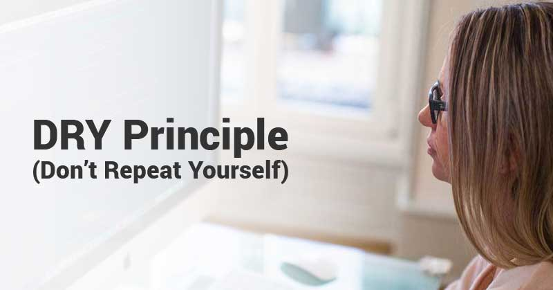 DRY-Principle-(Don't-Repeat-Yourself)