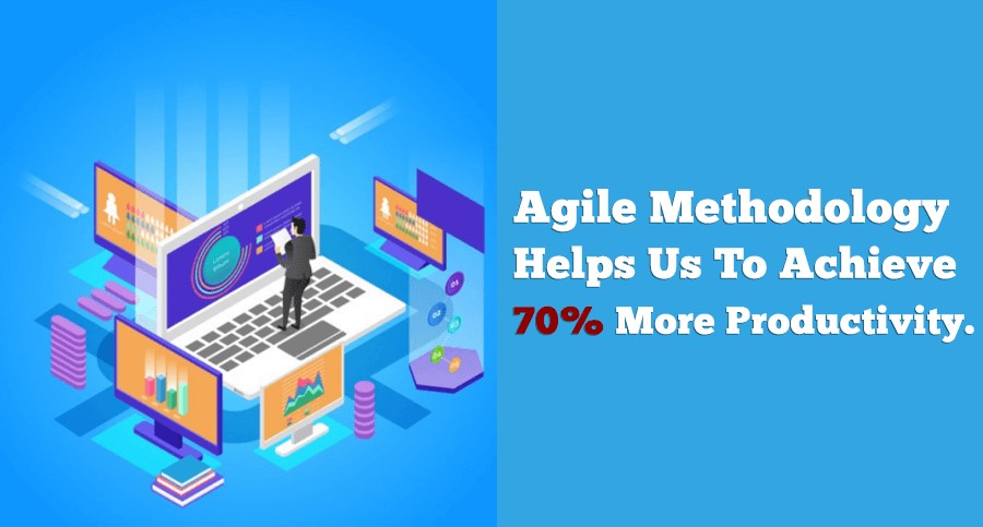 agile method yields 70% more productivity than traditional development method